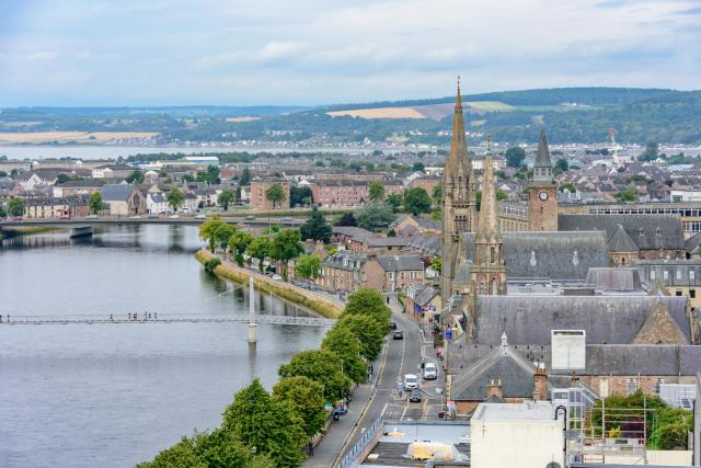 The River Ness, Inverness