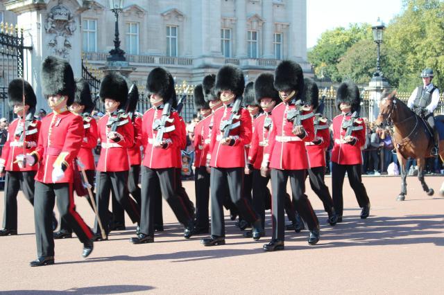 Changing the Guard, Buckingham Palace, London