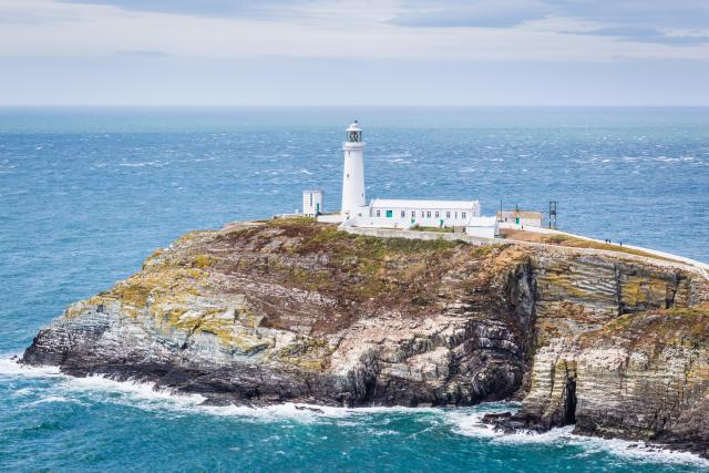 Wales Coast Path - South Stack Lighthouse, Anglesey, Wales
