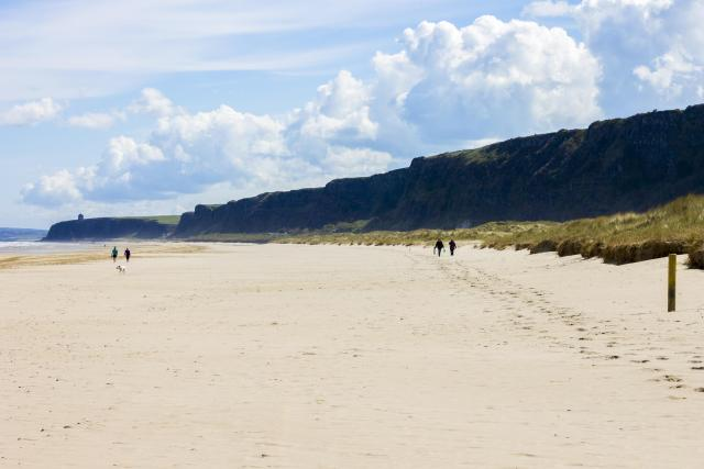 Northern Ireland Beaches - Benone Strand, Castlerock