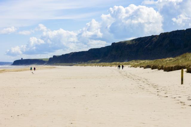 Northern Ireland Beaches - Benone Strand, Castlerock