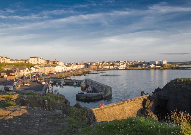 Northern Ireland Beaches - Portstewart Harbour and Promenade
