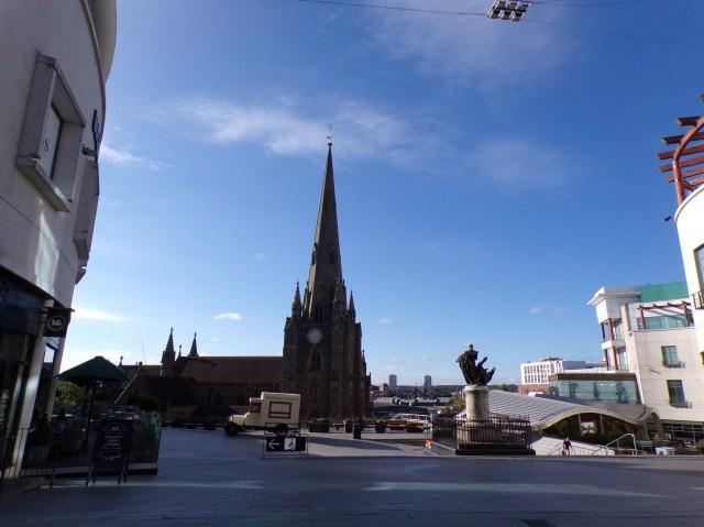 St Martin's Church in The Bullring, Birmingham, UK