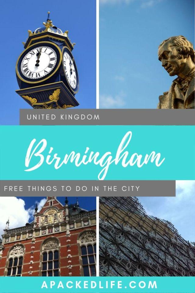 Best Free Things To Do In Birmingham UK