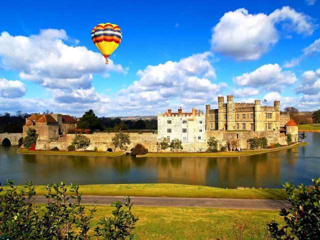 Castles Near London: Leeds Castle, Kent