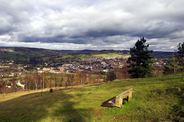 Secret England Hidden Gems - Stroud from Rodborough Hill