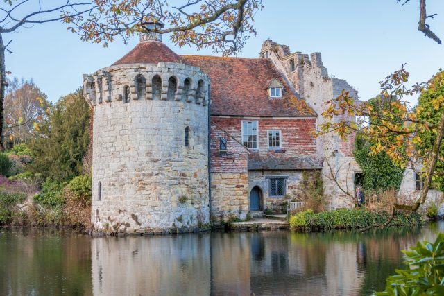 Castles Near London: Scotney Castle, Kent
