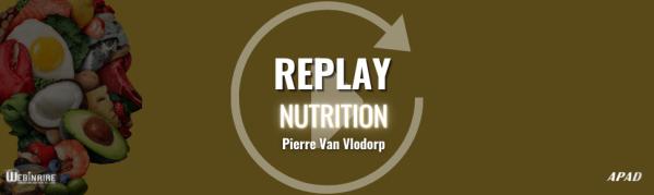 Replay webinaire nutrition