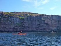 The cliffs at Rubha Cadail headland