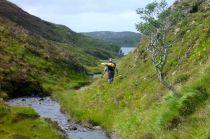Nearing Loch Five
