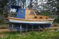 Walking stilt boat