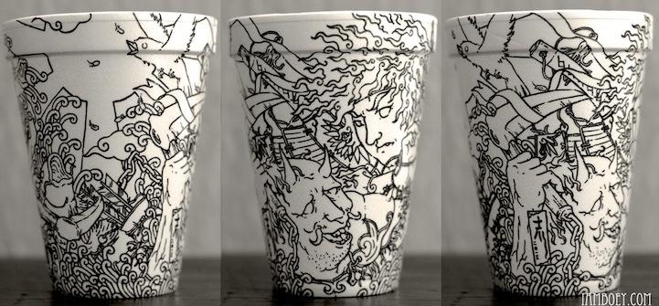 Un vaso, un café, una ilustración (4/6)