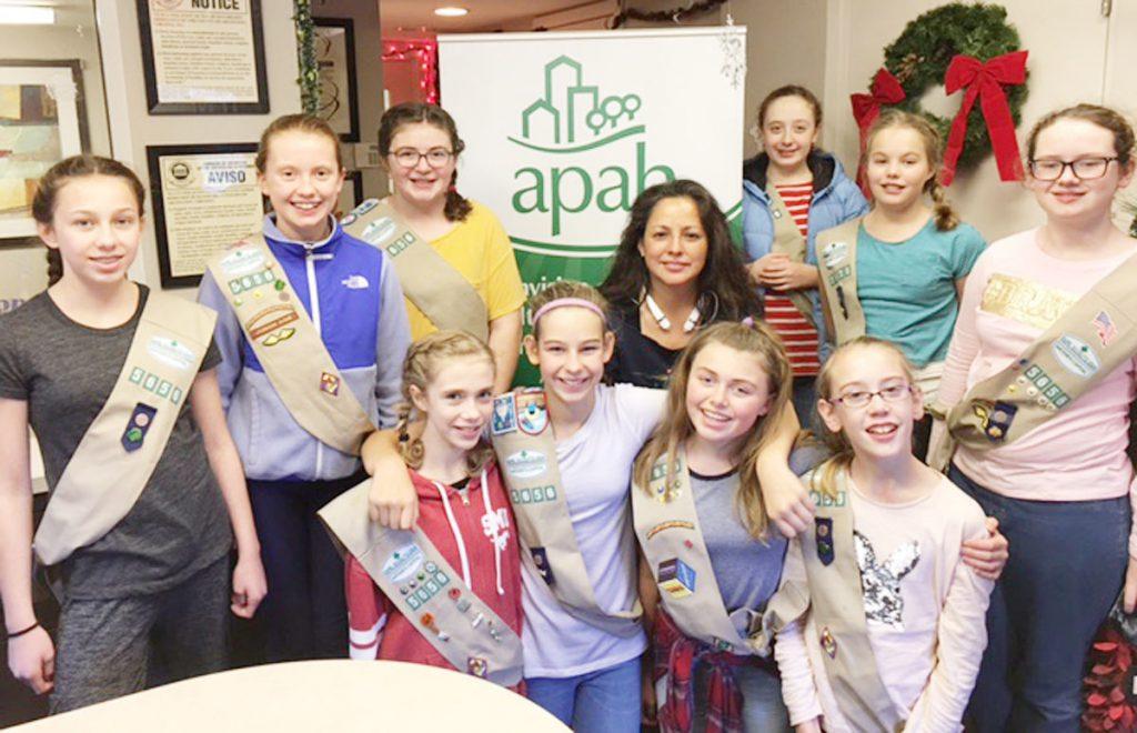Arlington Girl Scouts continue partnership with APAH  Inside NoVA  May 21 2017  APAH