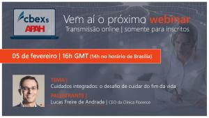 5.º Webinar Luso-Brasileiro Cuidados Integrados: o desafio de cuidar do fim da vida