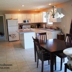 Small Eat In Kitchen Table Aid Appliance Furniture Rehab A Painted House