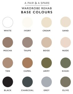Pin it also how to choose the colour palette for your wardrobe  pair  spare rh apairandasparediy