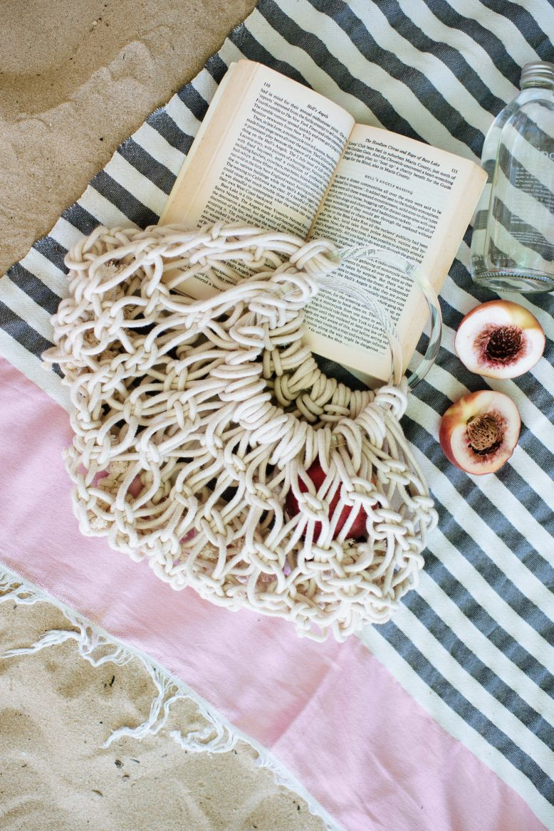 DIY Macram Rope Bag  A Pair  A Spare