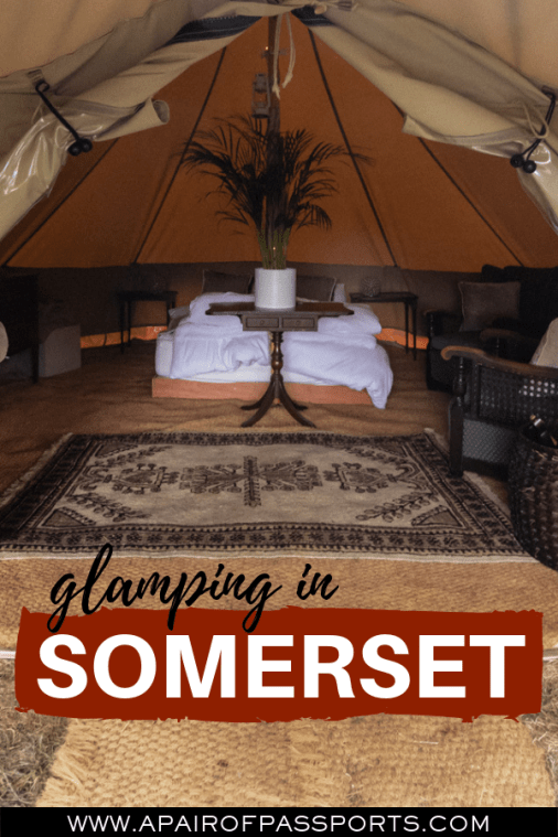 Glamping in Somerset - Field725