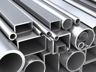 As barras em aço inoxidável também são metais ferrosos.
