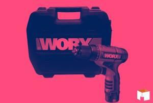 A Parafusadeira e Furadeira WX125 da WORX vai conquistar você!