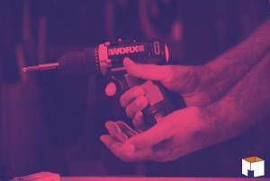 Conheça a Parafusadeira e Furadeira WX128.3 à bateria da Worx!