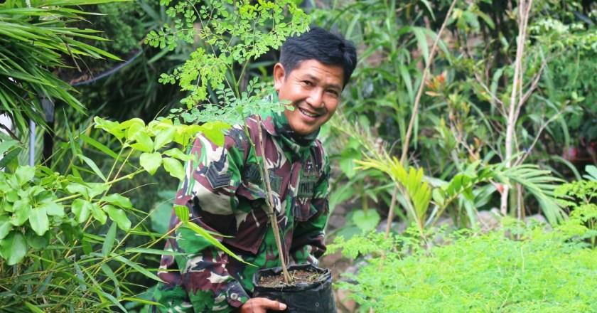 Serka Suyanto dan Aksi Berbagi Pohon