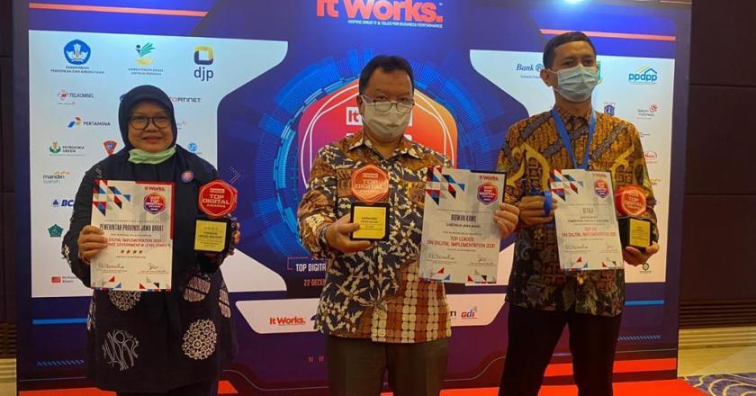 Jabar Sabet Tiga Penghargaan Top Digital Award 2020