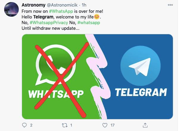 Ramai-ramai Pindah dari Whatsapp ke Telegram?