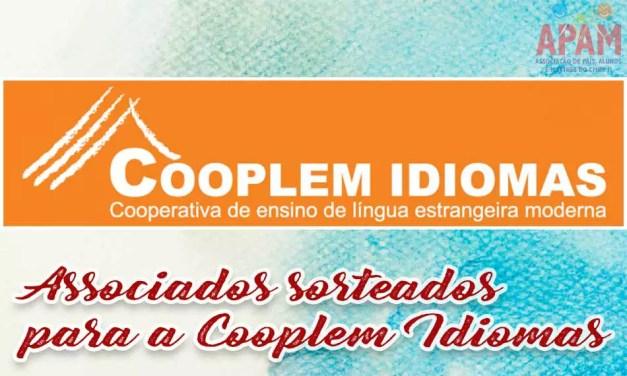 Associados Sorteados para a Cooplem Idiomas