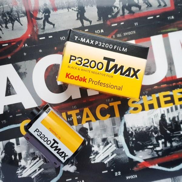 Negatyw Kodak Pro T-MAX P3200