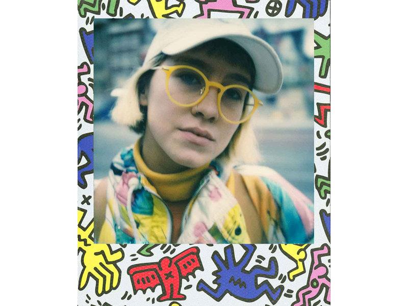 Wkład Impossible Project 600 COLOR Keith Haring limitowana edycja - przykładowe zdjęcia