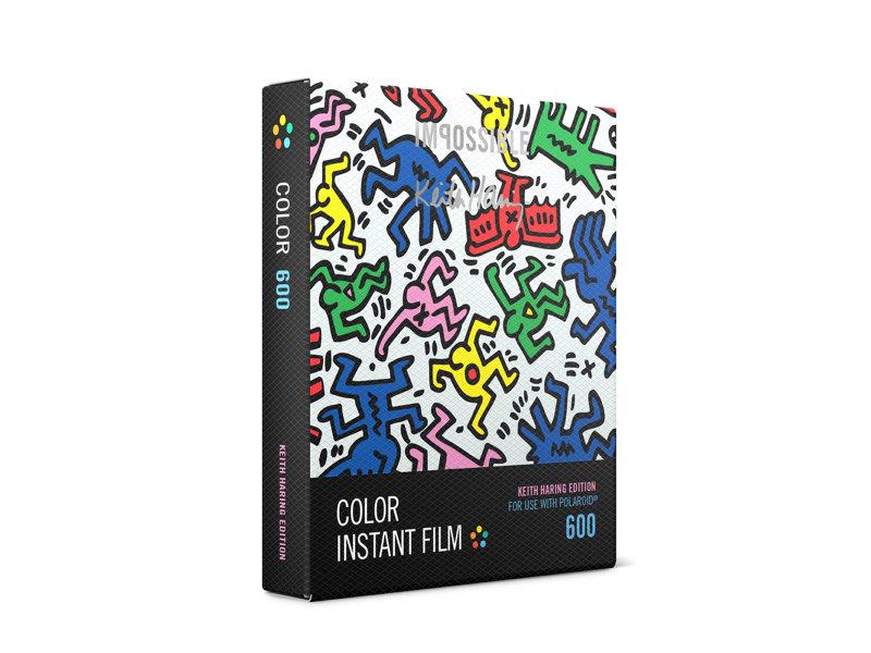 Wkład Impossible Project 600 COLOR Keith Haring limitowana edycja