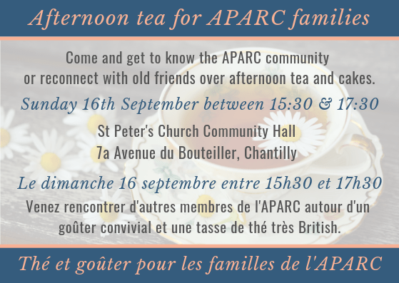 Aparc afternoon tea 2018