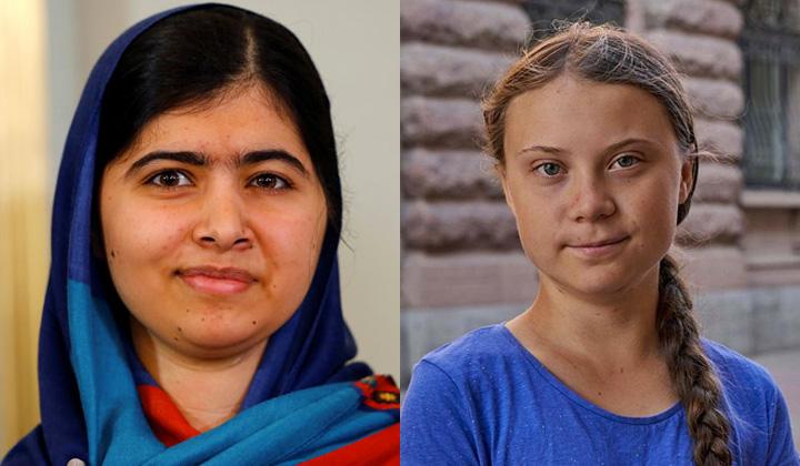 Malala e Greta Thunberg Crianças Ativistas Aparecida Liberato