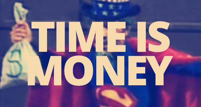tempo-e-dinheiro-time-is-money-super-sam