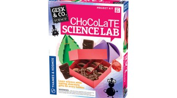 Thames And Kosmos Chocolate Science Lab #GiftGuide #Giveaway