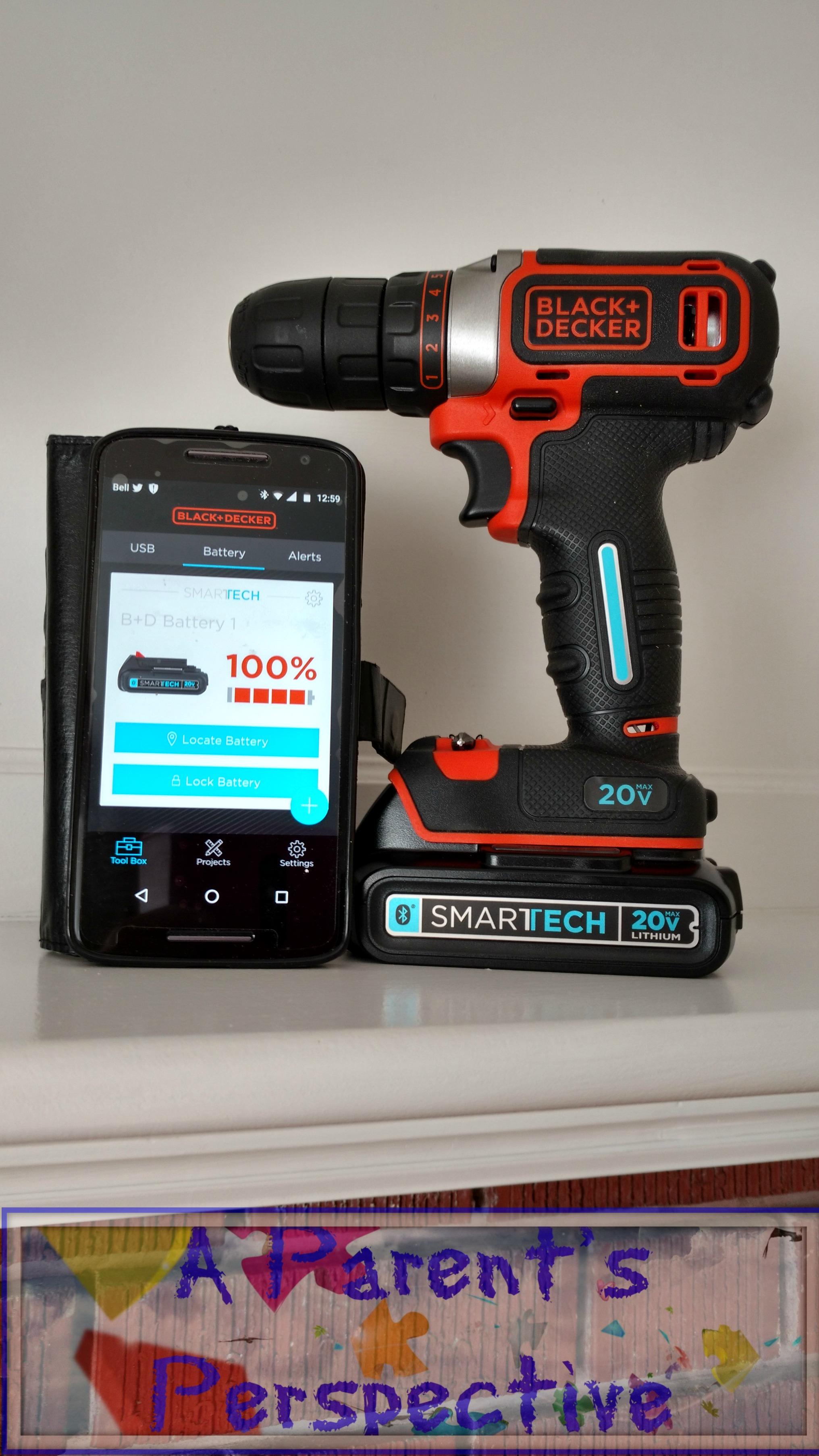 Black+Decker 20V Smartech Drill