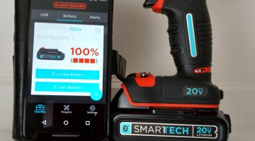Black+Decker 20V Smartech Drill Combines Tech And Durability #GiftGuide