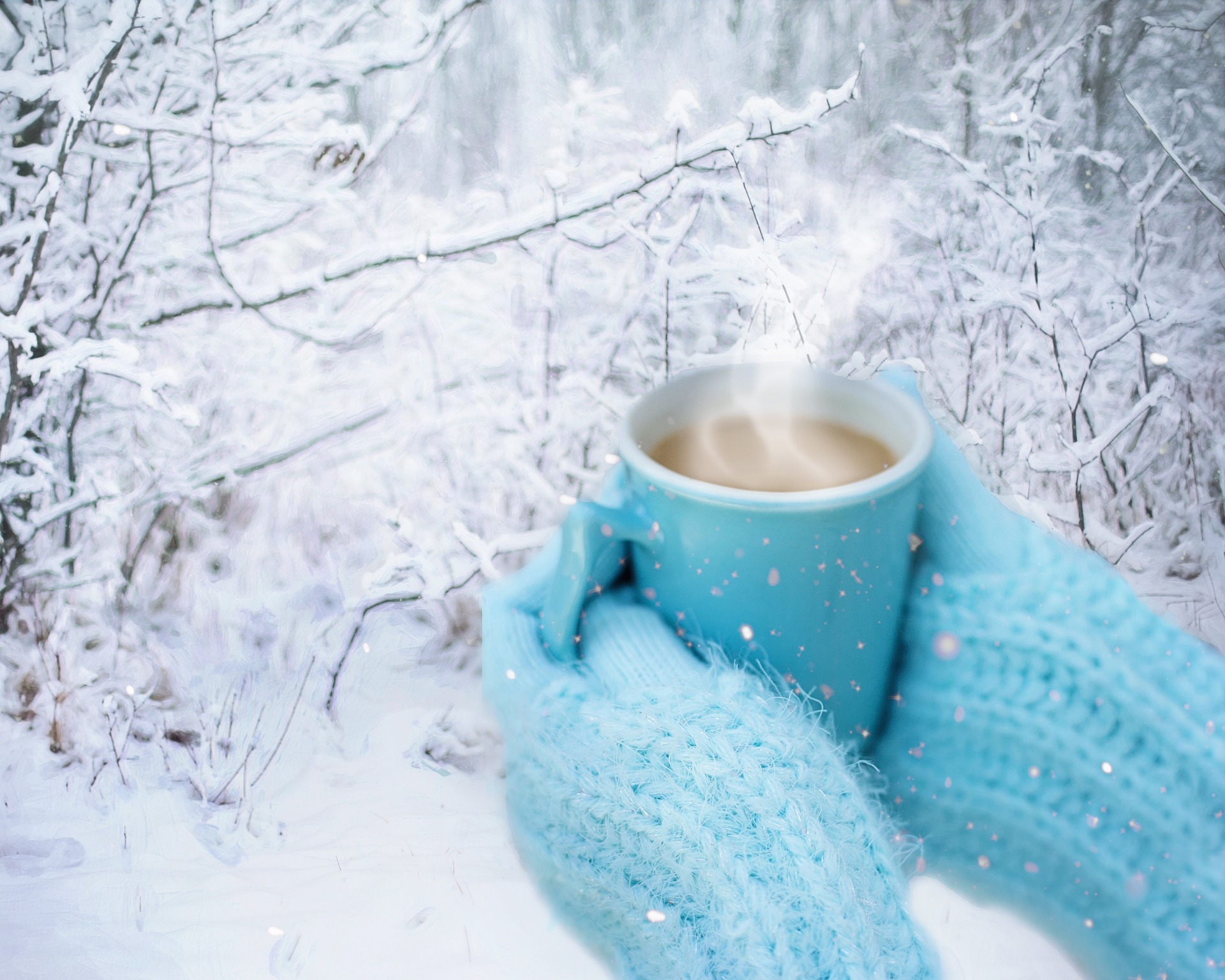 snow coffee (pixabay)