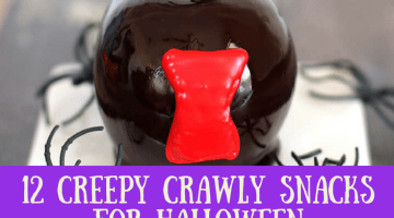 12 Creepy Crawly Snacks for Halloween