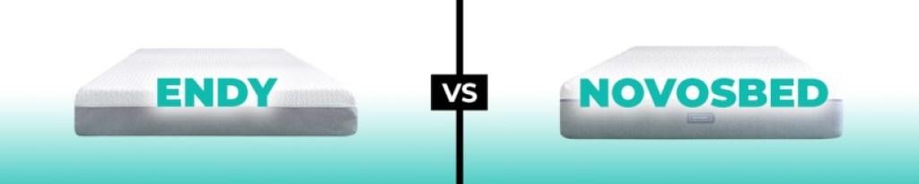 Endy vs Novosbed Mattress logo