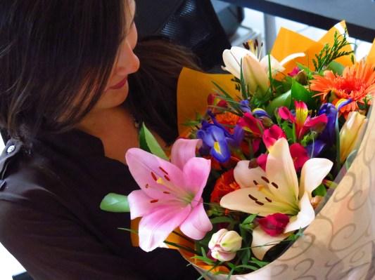 Flores surpresa.