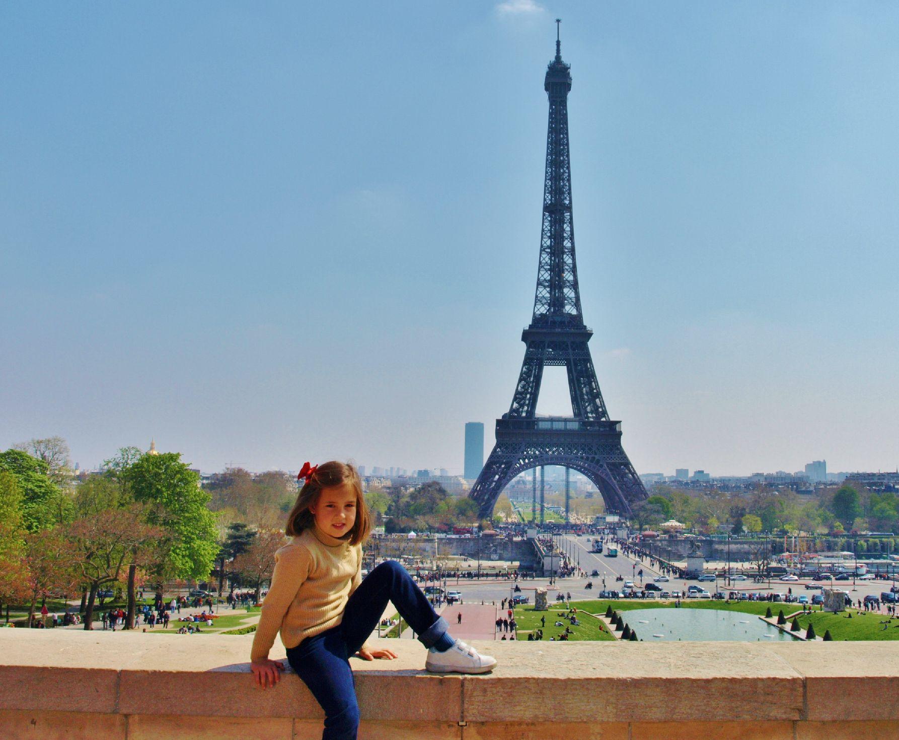 Torre Eiffel  A Pars con Elena