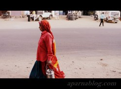 Rajasthani woman.