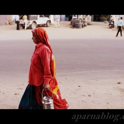 Rajasthani woman.