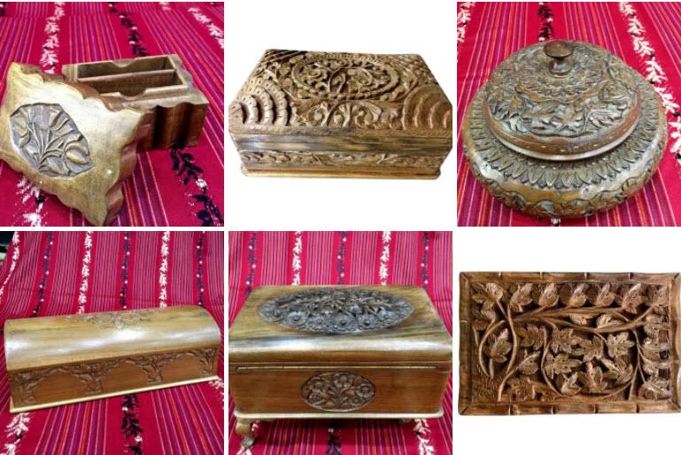 CraftsBazaar Walnut Wood