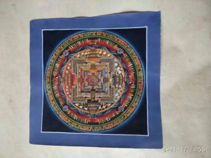 Meet-the-Master- Series -Shree- Surya Lama-Thangka- Buddhist- Painting- Dharamshala- India-Aparna-Challu-jpg (2)