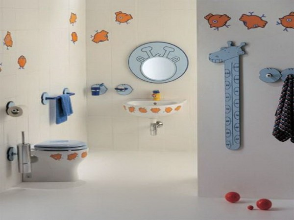 child friendly bathroom Give Your Kids A Bathroom They Will Love