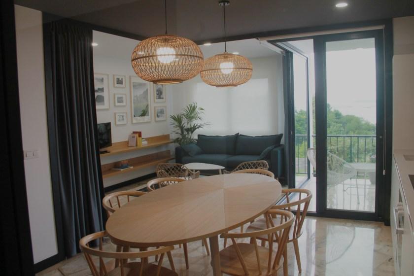 Vista general Apartamento Lapamán Rias Baixas
