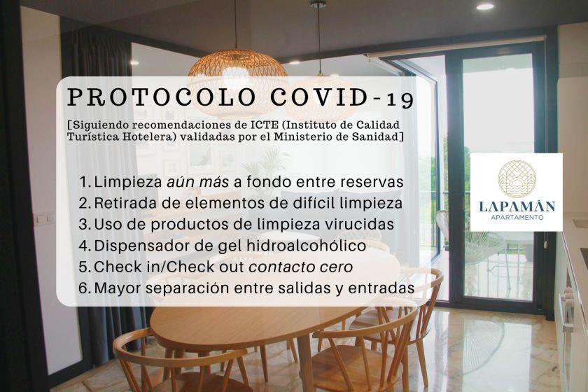 Protocolo Covid-19 Apartamento Lapamán